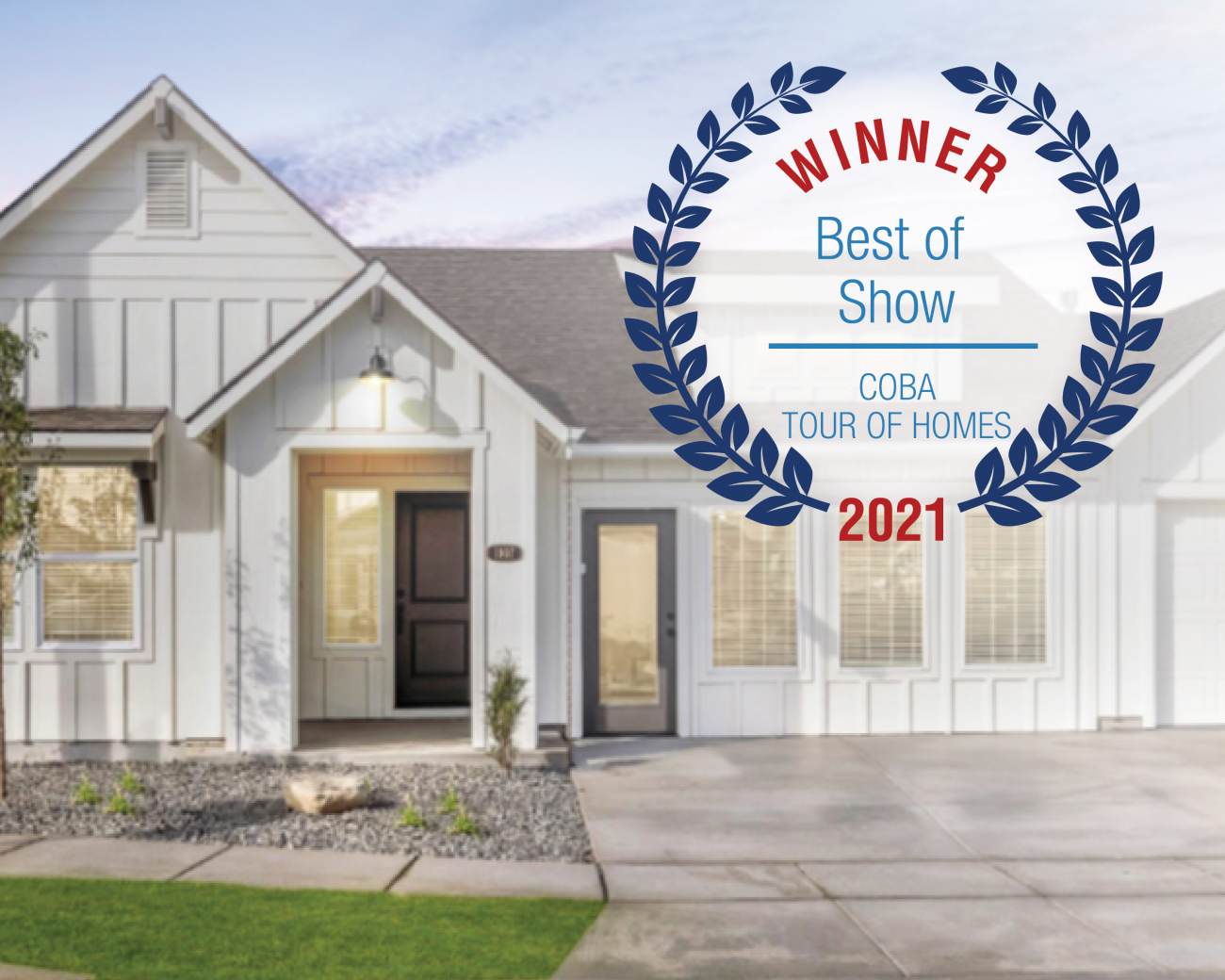 Winner Award for Best in Show by COBA